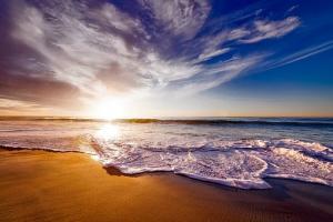 Na rajskiej plaży na Formenterze
